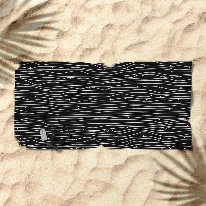 w2 Beach Towel