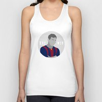 messi Tank Tops featuring Messi by fabifa