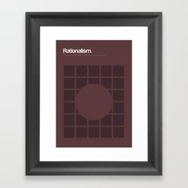 Rationalism Framed Art Print