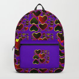 Hearts on fire Backpack
