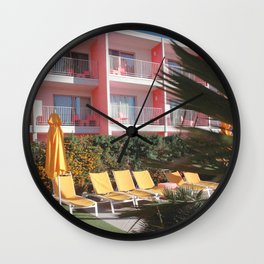 Retro Holiday Wall Clock