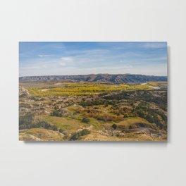 Badlands, Theodore Roosevelt NP, ND 2 Metal Print