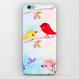 Sweet Tweets 1 iPhone Skin
