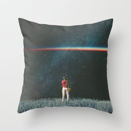 Saw The Light Throw Pillow