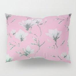 Floral Wallpaper Pink Pillow Sham