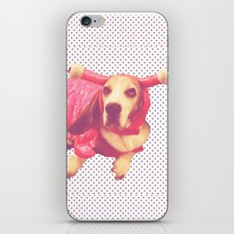 Spoopy Dog Lobster iPhone Skin