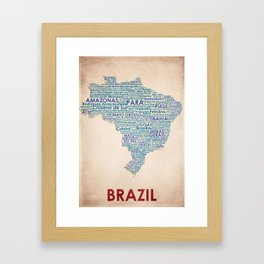 Brazil Framed Art Print