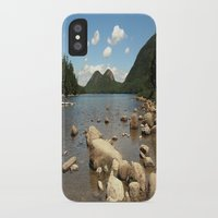 maine iPhone & iPod Cases featuring Maine by Raymond Earley