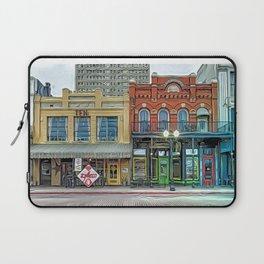 Entertainment District, Beaumont, Texas Laptop Sleeve