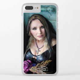 Veiled Clear iPhone Case