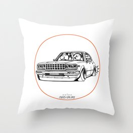 Crazy Car Art 0210 Throw Pillow