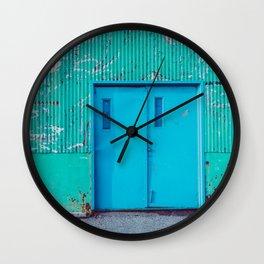 Happy Warehouse Wall Clock