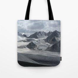 Glacier in Kyrgyzstan Tote Bag