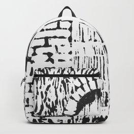 Garden Door (woodcut) Backpack