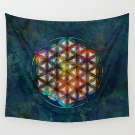 The Flower of Life Symbol Wall Tapestry