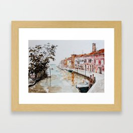 Murano in the Afternoon Framed Art Print