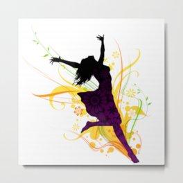 Dancing to Life Metal Print
