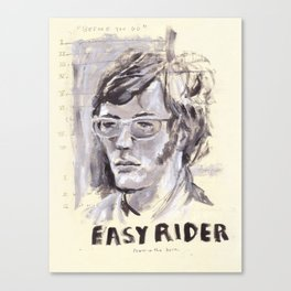 Easy Rider Collage Canvas Print