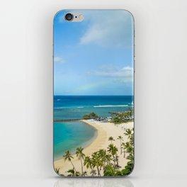 Rainbow, Hawaii iPhone Skin