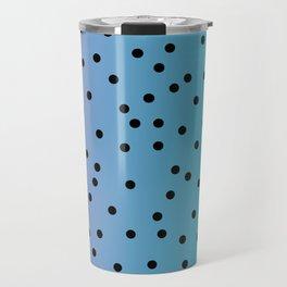 Ombre polkadots Travel Mug