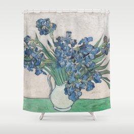Vincent van Gogh - Irises (1890) Shower Curtain