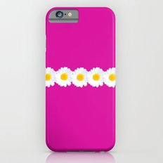 Pink daisy chain  iPhone 6 Slim Case