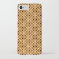 70s iPhone & iPod Cases featuring 70s Pattern by Ryan Winters