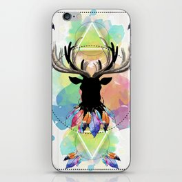 Venado Watercolor iPhone Skin