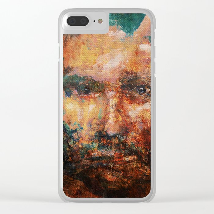 The Human Race 4 Clear iPhone Case