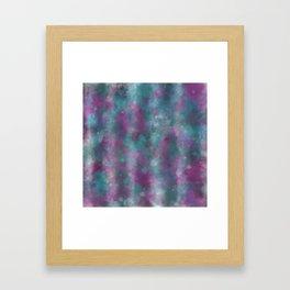 Blustery Blur Framed Art Print