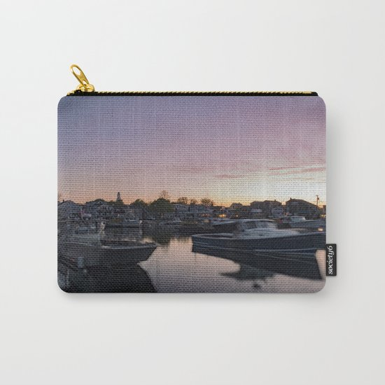 Rockport Harbor at twilight Carry-All Pouch