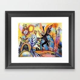 Nature's Shaman Framed Art Print