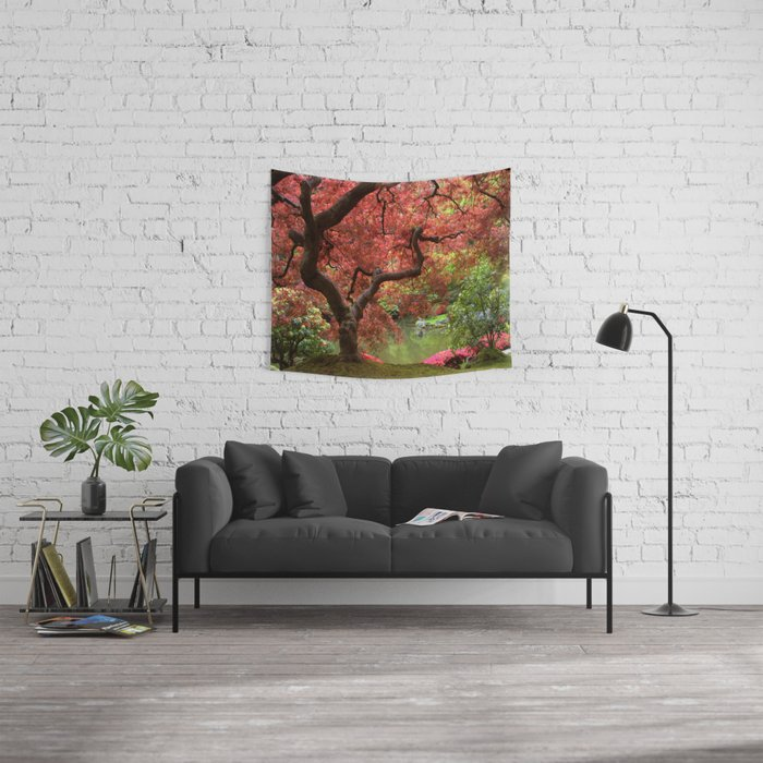 Tree Of Life Wall Tapestry