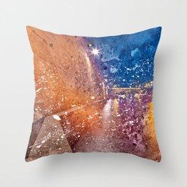 Acrylic Lights of Paris Throw Pillow