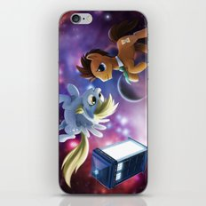 Whooves and Derpy iPhone & iPod Skin