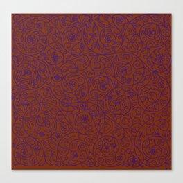 Swirls Pattern Canvas Print