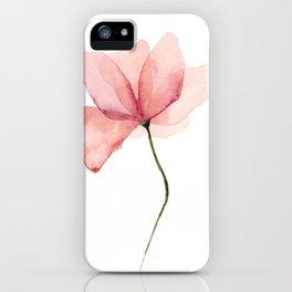 Watercolor Flower Original Artwork iPhone Case