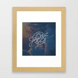 Jetsetter Sky Framed Art Print