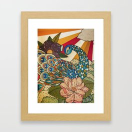 Dawn Breaking Framed Art Print