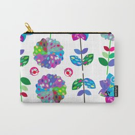Floral pattern #4D2 Carry-All Pouch