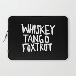 Whiskey Tango Foxtrot x WTF Laptop Sleeve