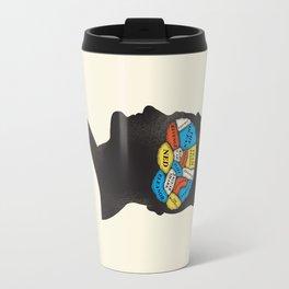 Stevesy Phrenology Travel Mug