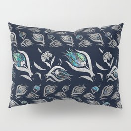 Turkish tulip - Ottoman tile pattern 5 Pillow Sham