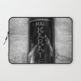 Be Careful How You Use It - Black And White Laptop Sleeve