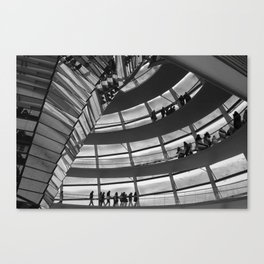 Berlin Reichstag Building, Germany. Canvas Print