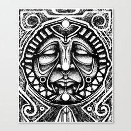 Shamanic trance Canvas Print