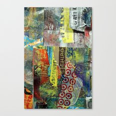 Layered 1 Canvas Print