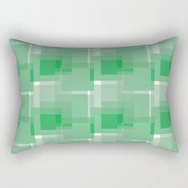 Green Rectangular Pillow