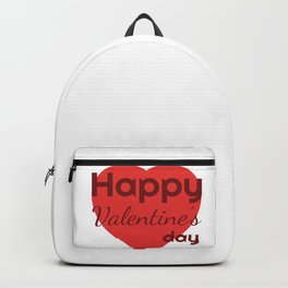 Happy Valentines day Backpack