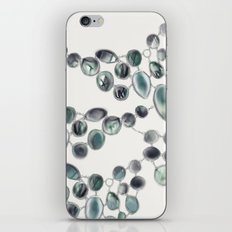 Baubles in Tourmaline iPhone & iPod Skin